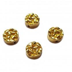 Kaboszon kamień hematyt 8,5x4mm - złoty