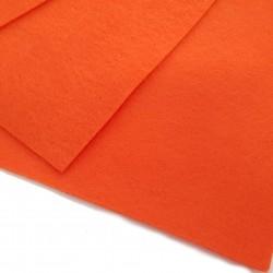 Filc arkusz 30x20cm grubość 1mm - pomarańczowy