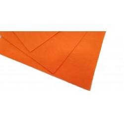 Filc arkusz 30x20cm grubość 1mm - neonowy pomarańcz
