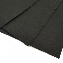 Filc arkusz 30x20cm grubość 1mm - czarny