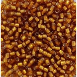 Koraliki TOHO round TR-11-22CF Frosted Dark Topaz 10g