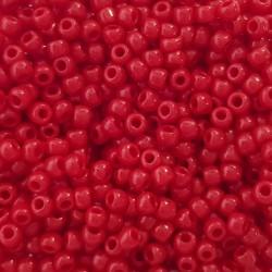Koraliki TOHO round TR-11-45 Opaque Pepper Red 10g