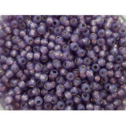 Koraliki TOHO round TR-11-2124 Silver-Lined Milky Lavender 10g
