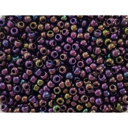 Koraliki TOHO round TR-11-85 Metallic Iris Purple 10g