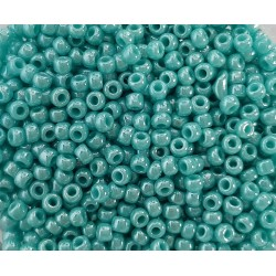 Koraliki TOHO round  TR-11-132 Opaque-Lustered Turquoise 10g