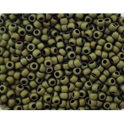 Koraliki TOHO round TR-11-617 Matte-Color Dark Olive 10g