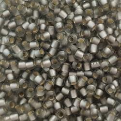 Koraliki TOHO round TR-11-29AF Frosted Black Diamond 10g