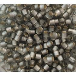 Koraliki TOHO round TR-08-29AF Silver-Lined Frosted Black Diamond 10g