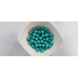 Koraliki plastikowe kulka gładka 10mm - miętowy