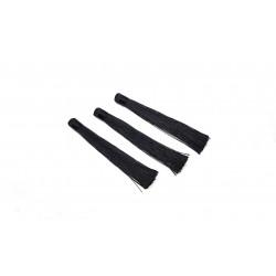 Chwosty / frędzle 120mm z wiskozy - czarny