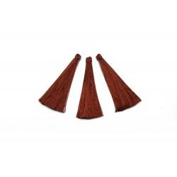 Chwost Chwosty 65mm z wiskozy - brązowy
