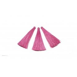 Chwost / frędzel 65mm wiskoza - różowy