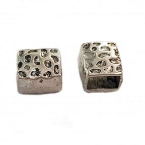 Przekładka 15x14mm cyna - srebrny
