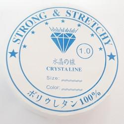 Gumka jubilerska silikonowa średnica 1mm szpulka 4m