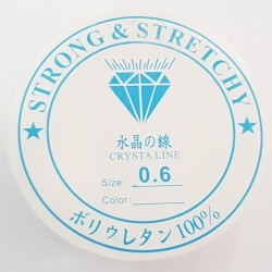 Gumka jubilerska silikonowa średnica 0,6mm szpulka 8m