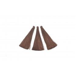 Chwost frędzel 65mm wiskoza - brązowy