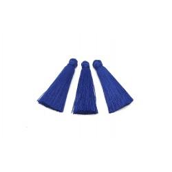 Chwost frędzel 35mm wiskoza - ciemny niebieski