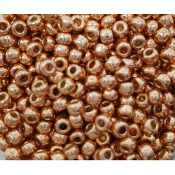 Koraliki TOHO Round TR-08-PF551 Permanent Finish-Galvanized Rose Gold - 10g