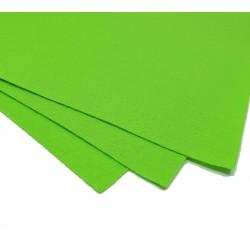 Filc arkusz 30x20cm grubość 1mm - neonowy zielony