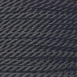 Sznurek skręcany 2mm PEGA - czarny A7001