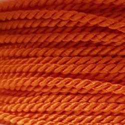 Sznurek skręcany 2mm PEGA - pomarańczowy A7353