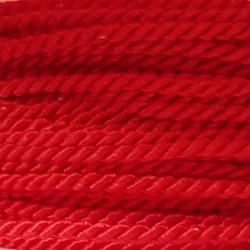Sznurek skręcany 2mm PEGA - czerwony A7501
