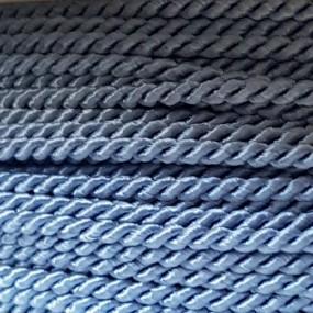 Sznurek skręcany 2mm PEGA - błękitny A1702
