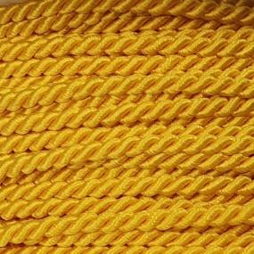 Sznurek skręcany 2mm PEGA - żółty słoneczny A4202