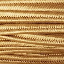 Sznurek sutasz 3mm PEGA - beżowy jasny złoty A1968