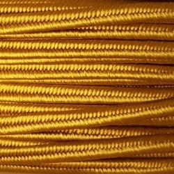 Sznurek sutasz 3mm PEGA - stare złoto A4203