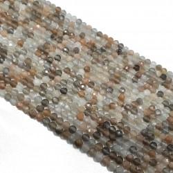 Kamień słoneczny 3mm - 3,5mm kulka fastowana sznur