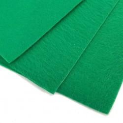 Filc arkusz 30x20cm grubość 1mm - zielony