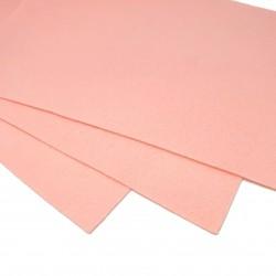 Filc arkusz 30x20cm grubość 1mm - blado różowy